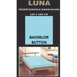Prześcieradło bawełniane 160x200 Bachelor Button